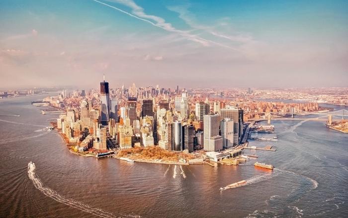 違う雰囲気のニューヨーク