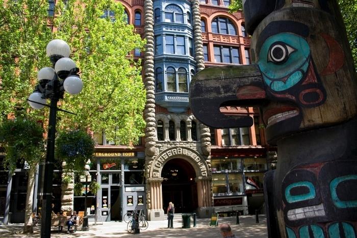 【シアトル】パイオニア・スクエアで訪れてみたい観光地4選