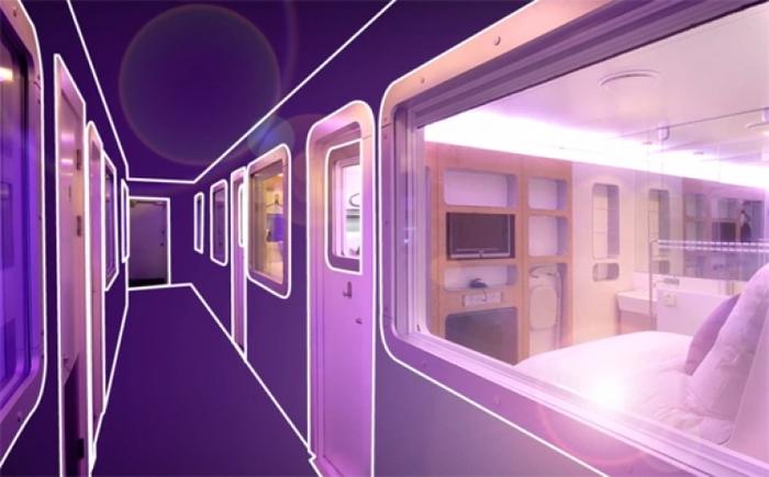 【ロンドン】えっ近未来!? ロンドンの空港ホテル「Yotel」が魅力的すぎる