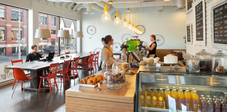 Cat Cafe Edmonton  Street