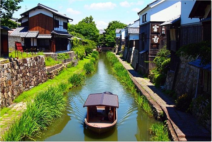 レトロな雰囲気の近江八幡