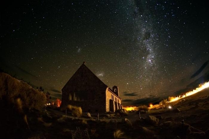 """【ニュージーランド】""""世界一の星空""""と称されるテカポ湖で天体観測を愉しもう!"""
