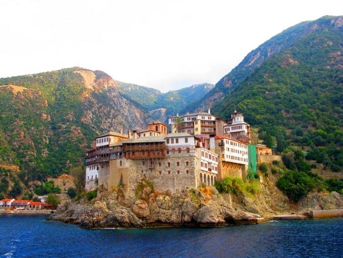 ギリシャ】多くの修道院があり聖...
