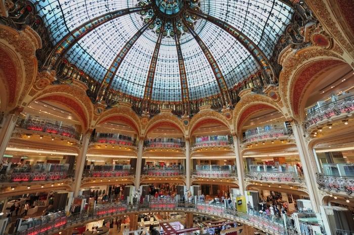 フランス・パリの有名デパート「ギャラリー ラファイエット」の魅力