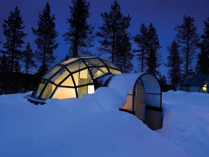 世界一素敵!? フィンランドの寝ながらオーロラが見れるロマンチックホテル