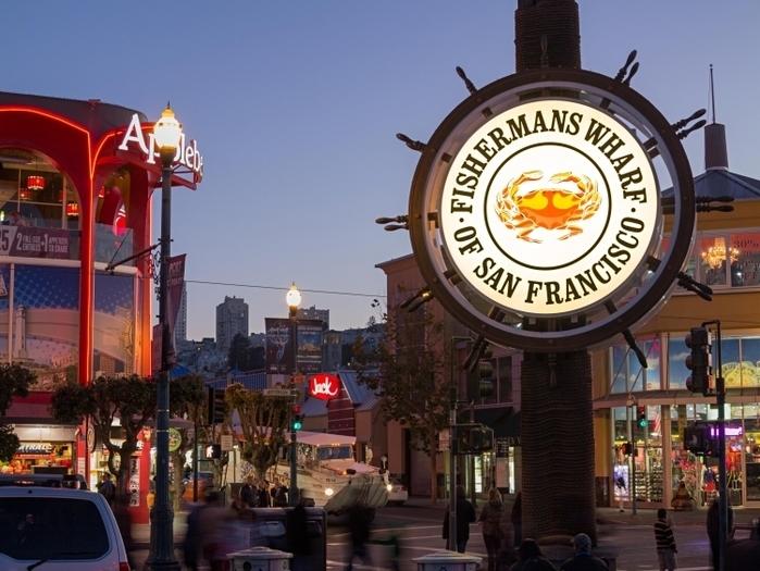 サンフランシスコ】初めての方向...