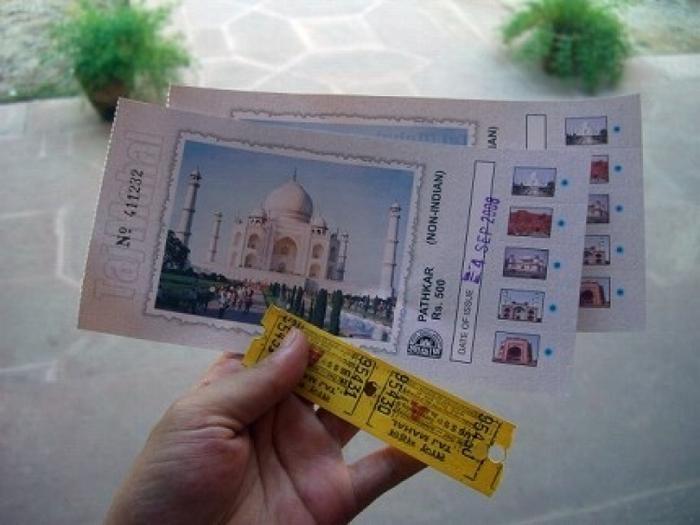 【インド】初めてのタージマハル観光ガイド、見どころ、行き方、注意点まとめ
