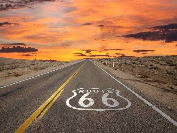 大学の卒業旅行で挑戦するアメリカ大陸横断ルート66の旅