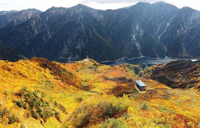日本一の山岳紅葉がココに! 北アルプスの紅葉登山・ハイキングツアー