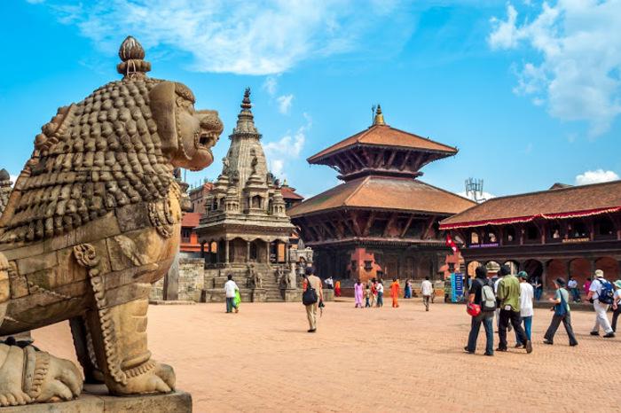ネパール】バクタプルで宿泊した...