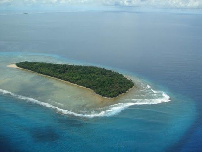 【マーシャル】現在はダイビングスポットにもなっているビキニ環礁核実験場