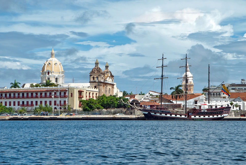 【世界遺産】カルタヘナの港は、奴隷貿易で栄えたコロンビアの植民都市