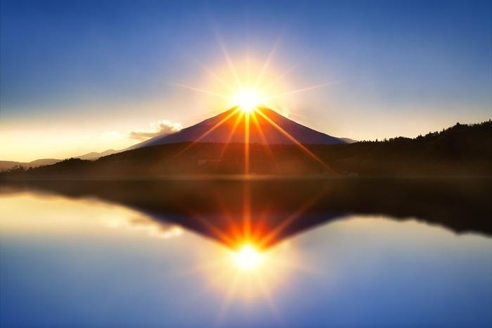 「初日の出 富士山」の画像検索結果