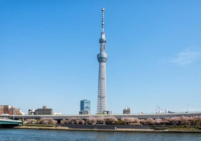 東京の主要観光地