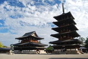 【奈良】法隆寺観光でじっくり見るべき6つの国宝建築:五重塔・夢殿ほか