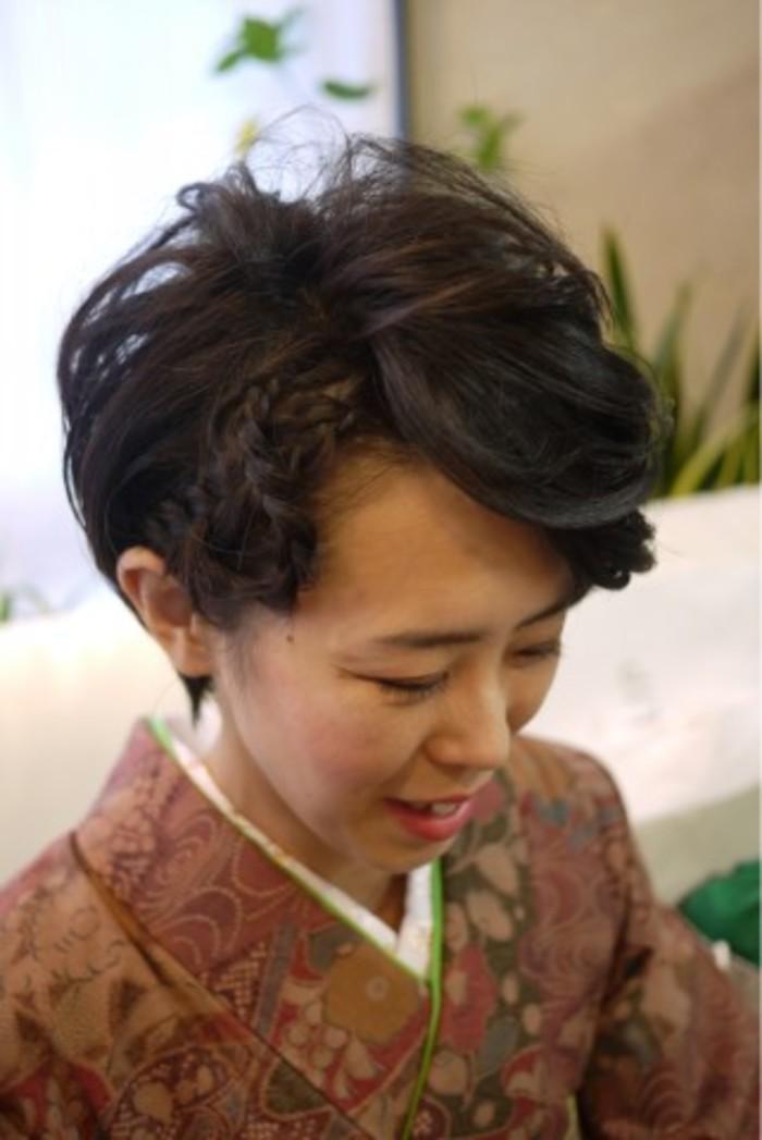 着物に似合う髪型・ヘアスタイル】おすすめアレンジを紹介