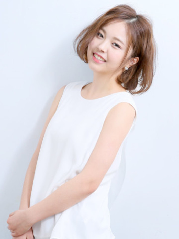 【夏に似合う髪型・ヘアスタイル】甘すぎない可愛さ&ほんのり色っぽさを演出♡