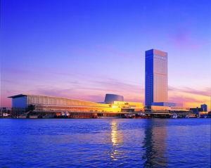 ホテル日航新潟:朱鷺メッセ併設、日本海随一の高層ビル内に建つアーバンリゾート
