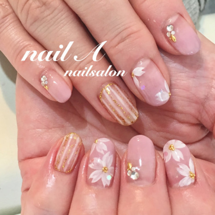 春にぴったり桜のおすすめネイルデザインまとめ♡
