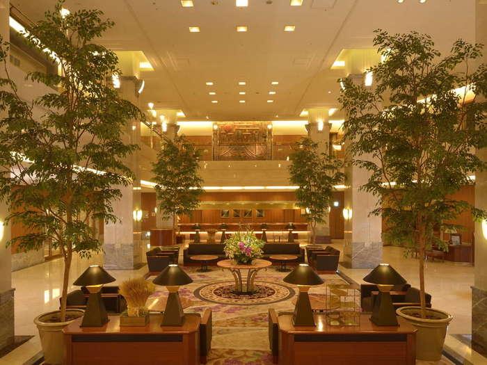 ホテルグランヴィア岡山:岡山の安らぎを感じる中国四国の玄関口