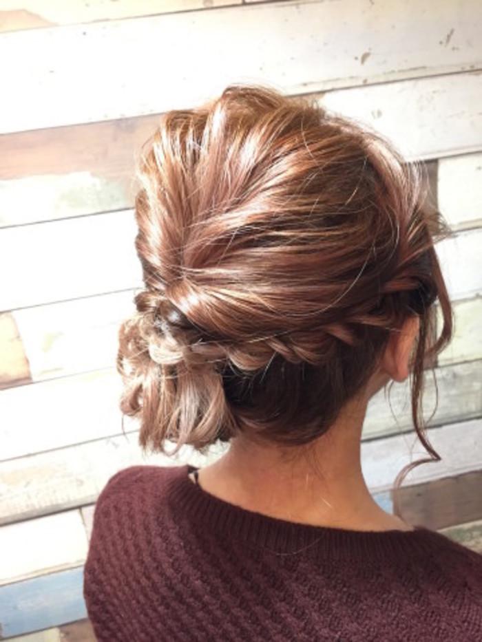ミディアムヘア・髪型だからできる!かわいいヘアアレンジの