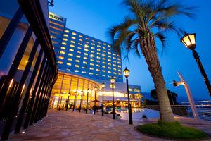 別府湾ロイヤルホテル:別府湾を一望。露天風呂とキティルームで大人も子供も大満足のホテル