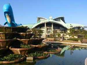 沖縄コンベンションセンターの紹介:沖縄の自然をモチーフにデザインされた複合施設