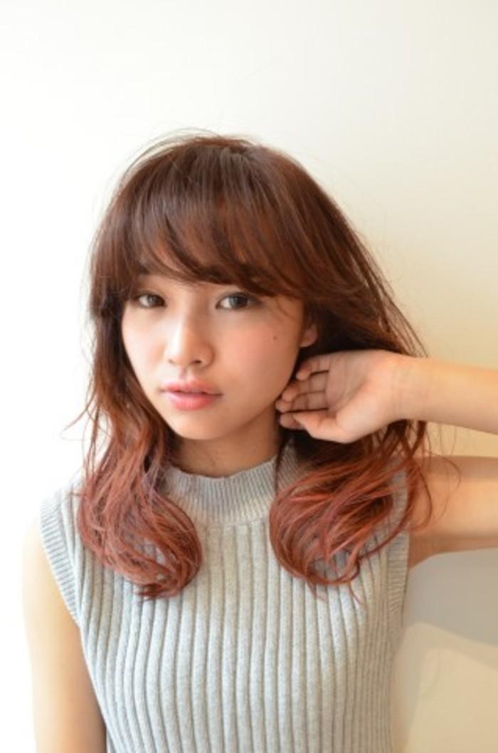 人気のグラデーションヘア・髪型でトレンド感GET♡