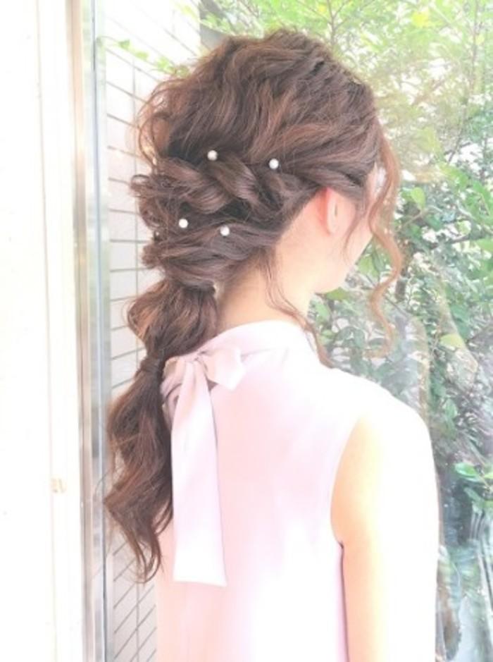結婚式お呼ばれヘア・髪型☆ドレスに似合うオススメはこれ