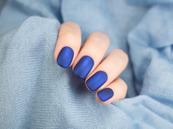 爽やかカジュアルな青ネイルのおすすめデザインまとめ