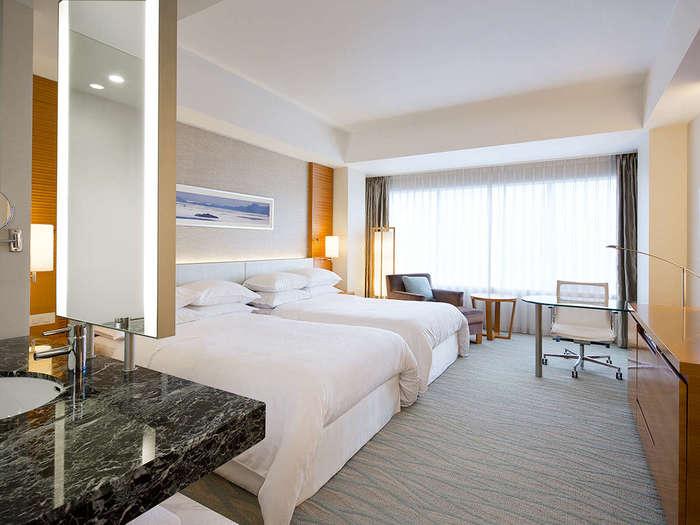 シェラトングランドホテル広島:広島駅から徒歩1分!ワンランク上のホテルステイ