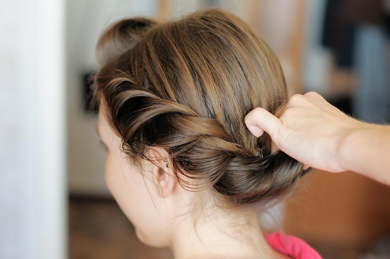 セミロング 可愛い 髪型