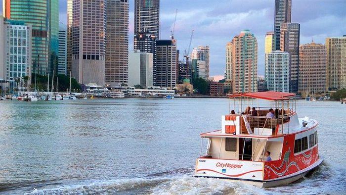 【オーストラリア】ブリスベン観光はフェリーに乗って川下り!