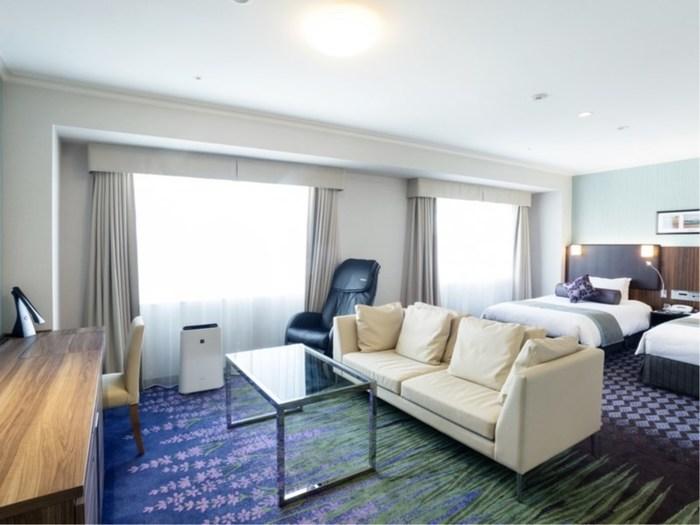 札幌エクセルホテル東急:中島公園に隣接。すすきのへも近く、観光・ビジネスに最適なホテル