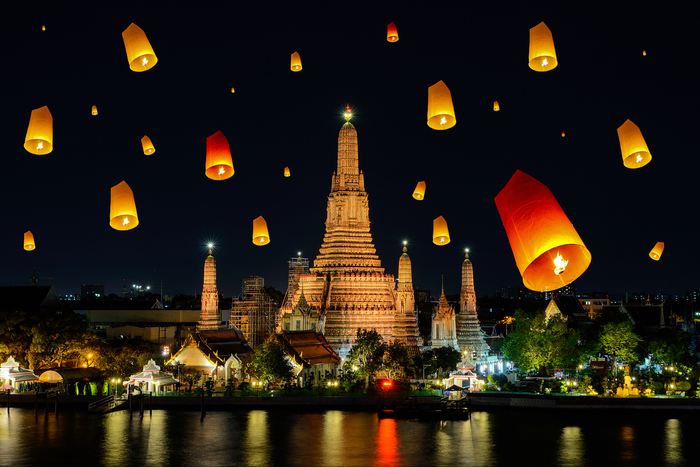 タイでおすすめの観光スポットまとめ:名所ランキング上位の観光地一覧