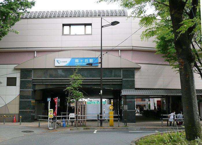 小田急小田原線・梅ヶ丘駅と周辺について!様々な情報を