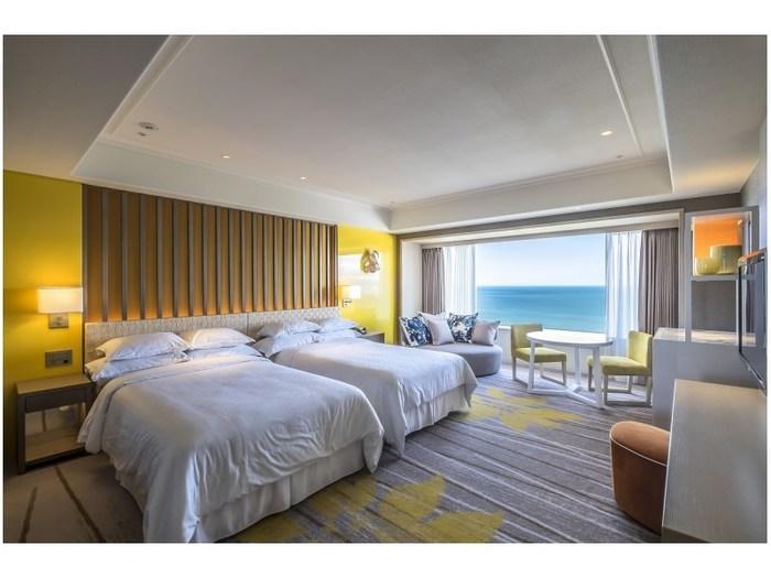 シェラトングランデ オーシャンリゾート:宮崎駅より15分。海と黒松林に囲まれた滞在型リゾートホテル