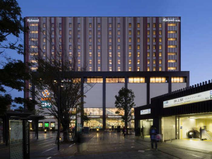 スカイツリー駅(押上)から1km以内で宿泊したいおすすめのホテル5選!電車でのアクセスに便利