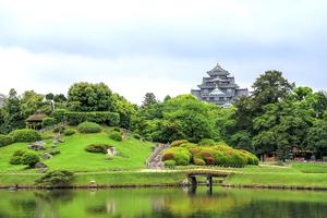 岡山城をめぐる旅♥旅好き女子必見の黒漆塗りの烏城