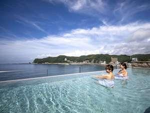 鴨川ホテル三日月は遊べる旅館!海を一望できる絶景温泉&スパ