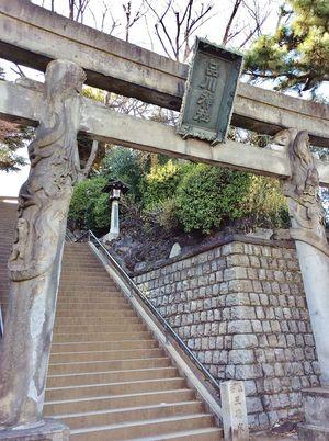 品川神社をめぐる旅♥旅好き女子必見の双竜の刻まれた鳥居