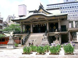 難波神社をめぐる旅♥旅好き女子必見の都会の真ん中の古社