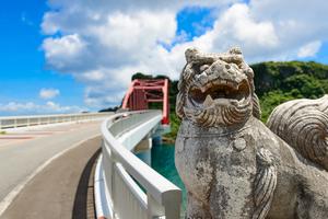 【沖縄】海の駅 あやはし館でドライブデート♪海中道路のついでによってお腹も満足!