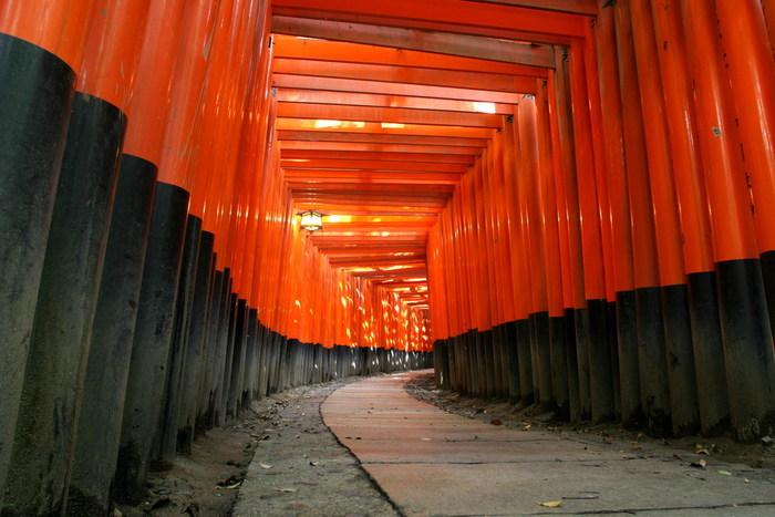 【京都】伏見稲荷大社の観光ガイド:朱色の千本鳥居に圧倒される