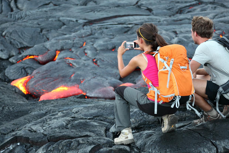 ハワイ島】ヘリでめぐるキラウエア火山体験オプショナルツアー5選 ...